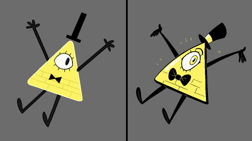 Bill Cipher From The Gravity Falls