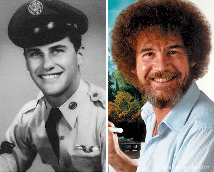 Bob Ross Was A Sergeant In The Air Force