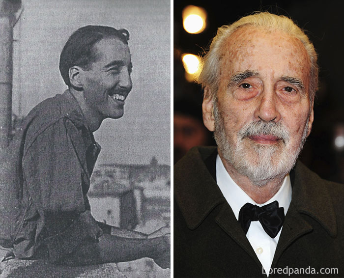 Christopher Lee Worked For The Intelligence Service