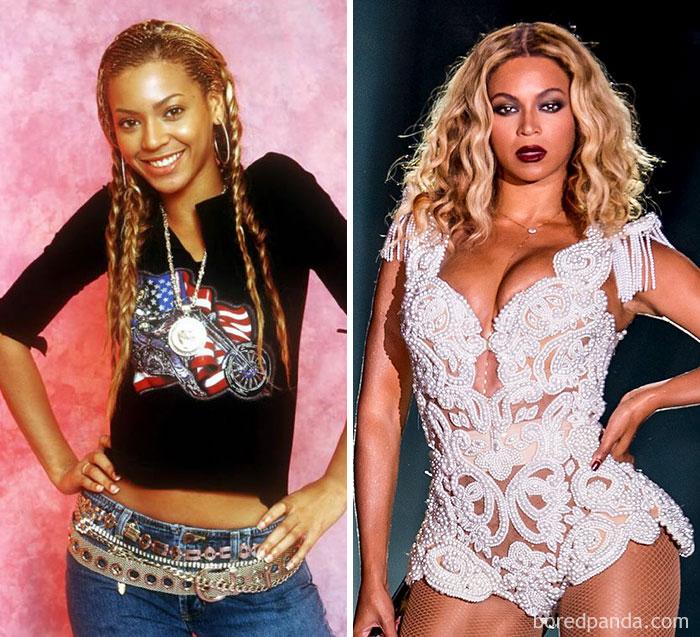 Beyoncé trabajaba barriendo el suelo en el salón de peluquería de su madre