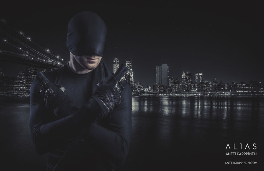 I Create Movie And Tv Series-related Photography Projects
