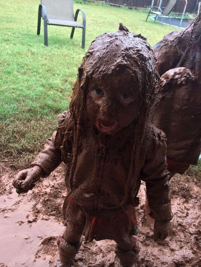 Mom, I Got Just A Little Bit Dirty