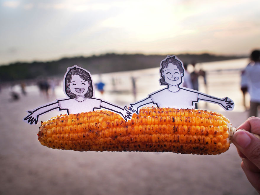 "Go For A ""Jagung Bakar"" Or Roasted Corn On The Cob"