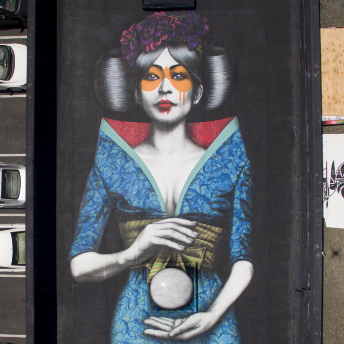 Fin Dac's New Rooftop Mural In San Francisco