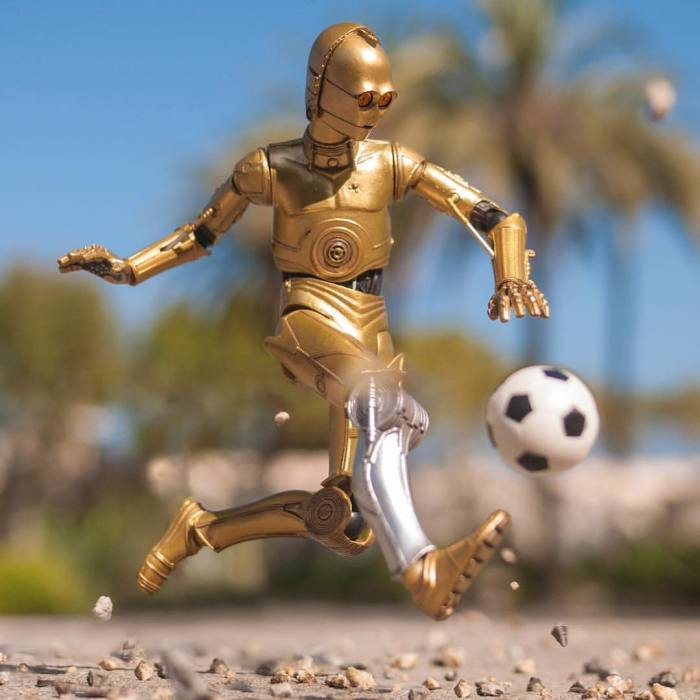 I Brought My C-3po Action Figure To Life
