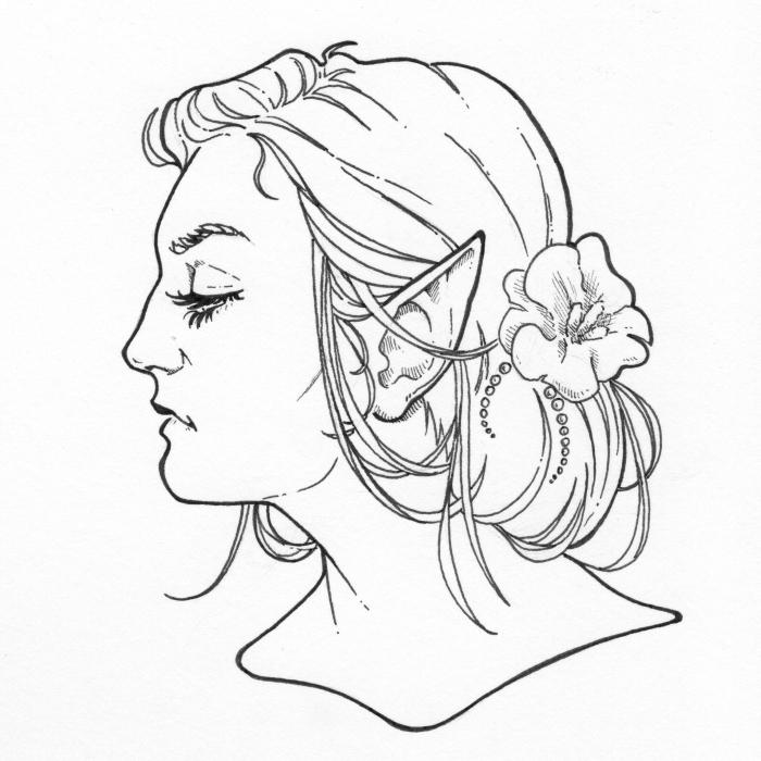 I Draw Instagram Selfies In Ink
