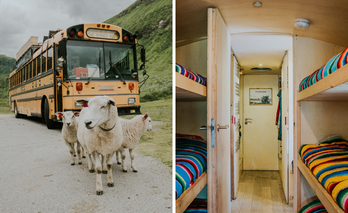 We Turned An American School Bus Into A Hostel On Wheels
