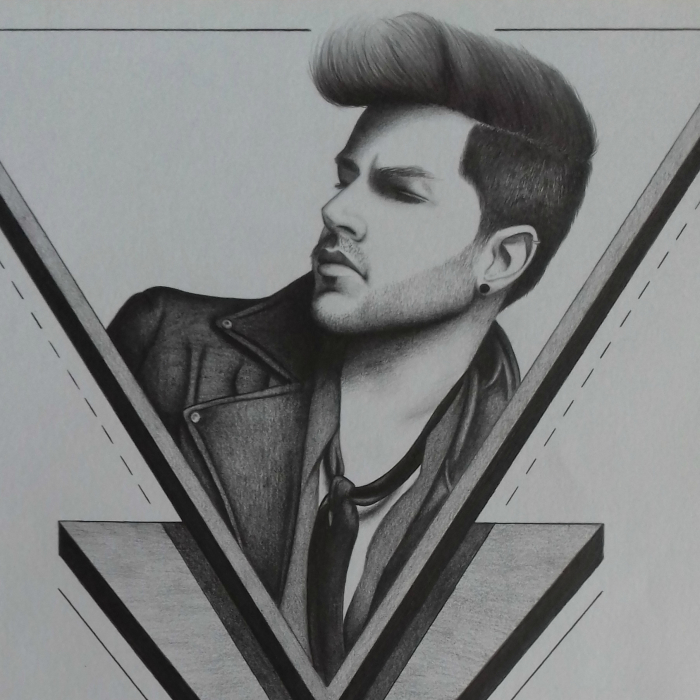 Some Of My Portraits That I Drew Using Pencils