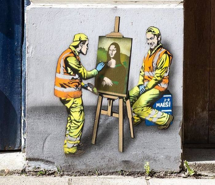 Secret Life Of Tiny Workers Revealed By This Belgium Street Artist