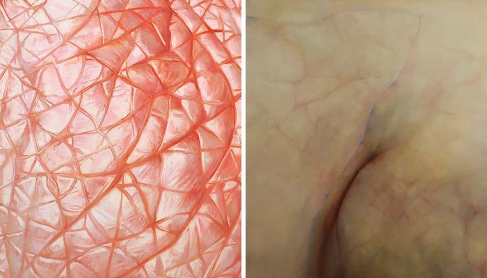 My Hyperrealistic Paintings Of Human Skin