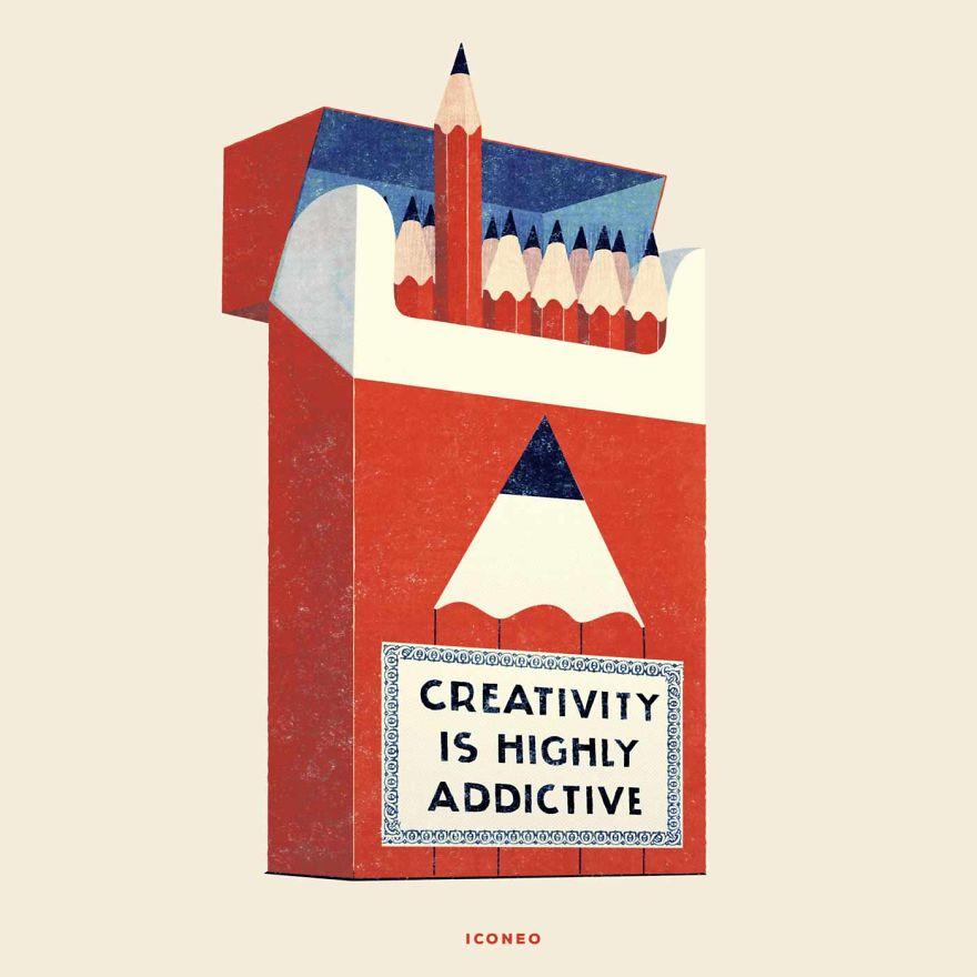 Creativity Is Highly Addictive