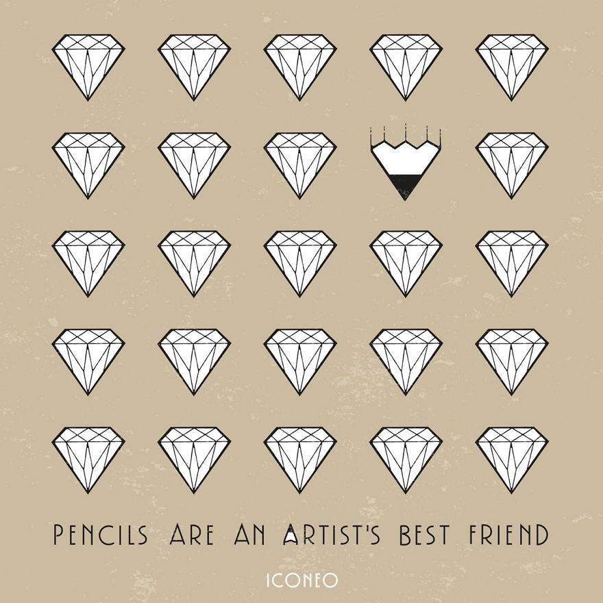 Pencils Are An Artist's Best Friend