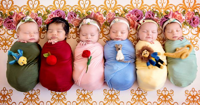 b17f793d957 This Mini Disney Princess Photoshoot Of 6 Babies Is Taking Internet By  Storm