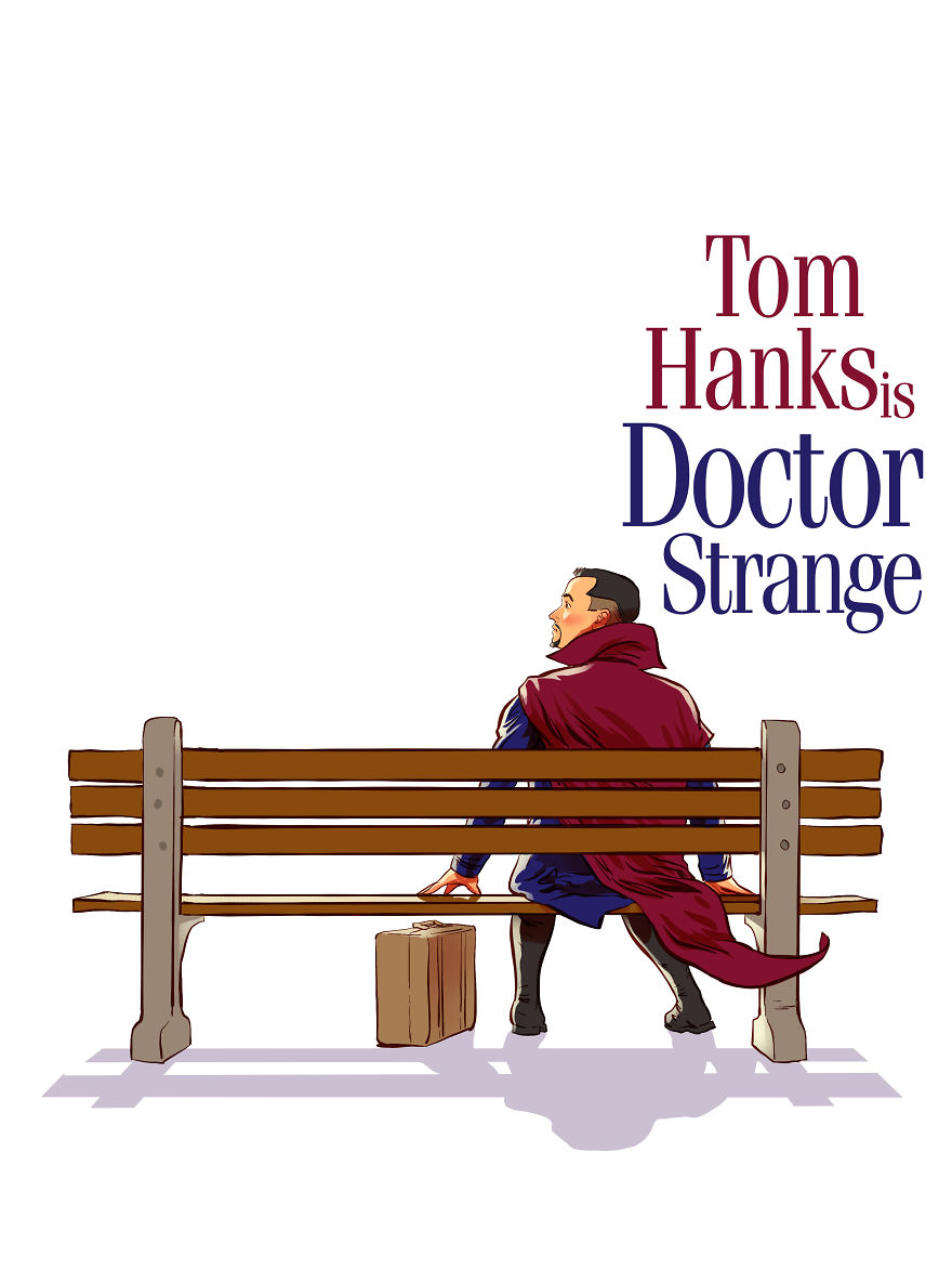 Doctor Strange With Tom Hanks