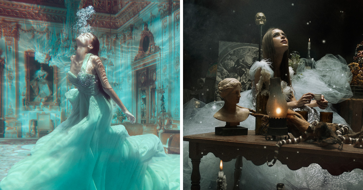 Meet The Photographer Who Turns Dreams Into Windows To Other Worlds