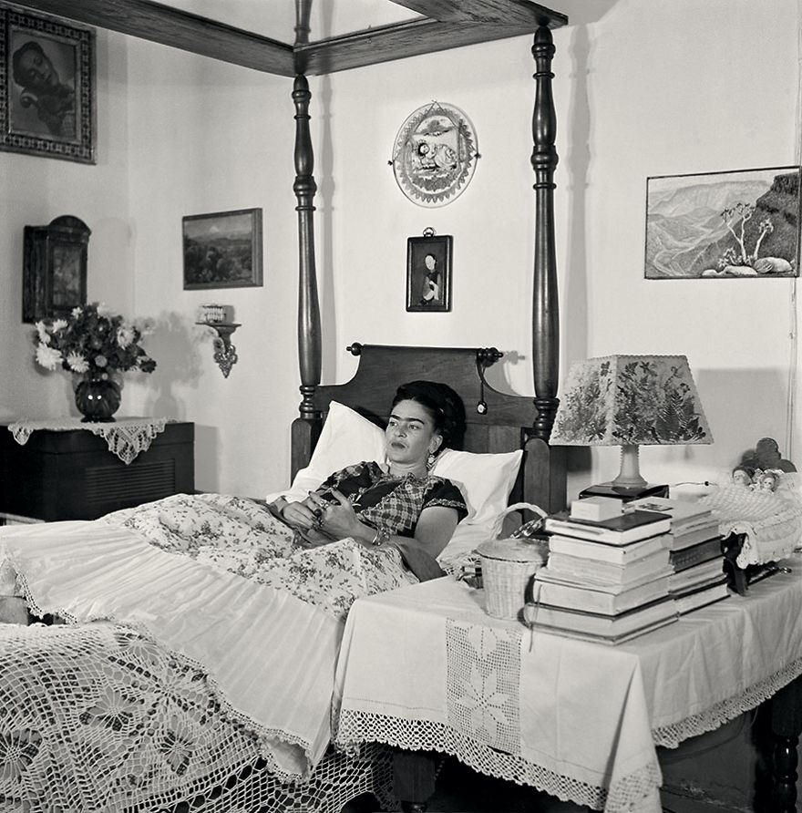 Frida Kahlo Rare Photo