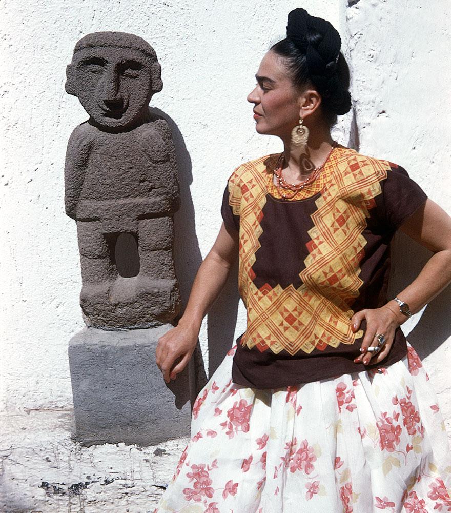 Frida Kahlo Rare Photo