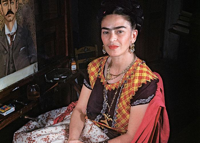 10+ Curiosas fotos de Frida Kahlo durante sus últimos años de vida