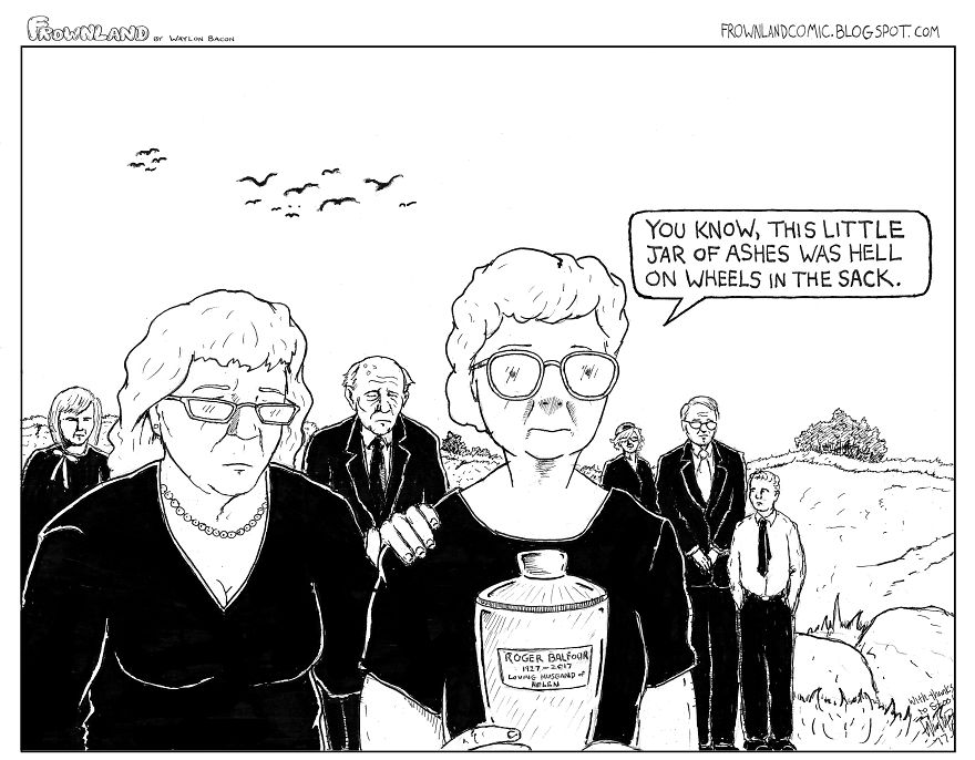 Here It Is - Your Weekly Frownland.