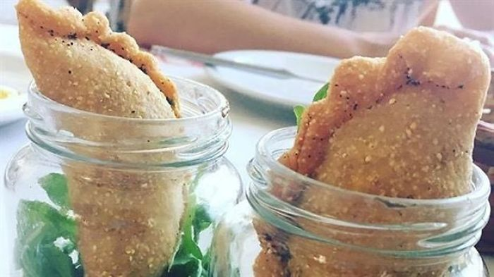Traditional Empanadas (meat Pies) Served In Jars In A Trendy Restaurant In Argentina Caused Social Media Outrage And Tons Of Memes