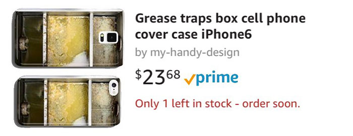 Grease Traps Box Cell Phone Cover Case iPhone6