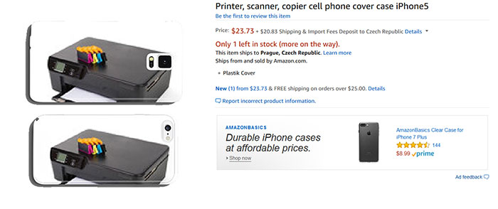 Printer, Scanner, Copier Cell Phone Cover Case iPhone5