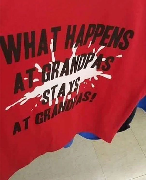 And What Exactly Happens At Grandpas?
