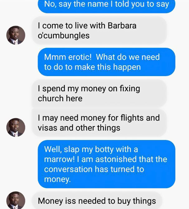 Woman Shuts Down Scammer In The Most Hilarious Way | Bored Panda