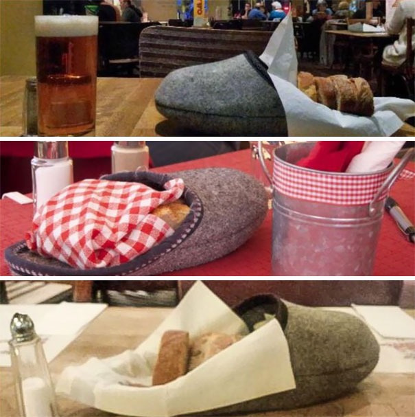 Confirmation Of The Bread Slippers Of Switzerland. You're Welcome