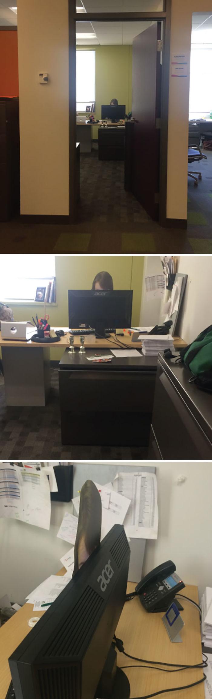 La gente comenta lo tarde que me quedo en la oficina