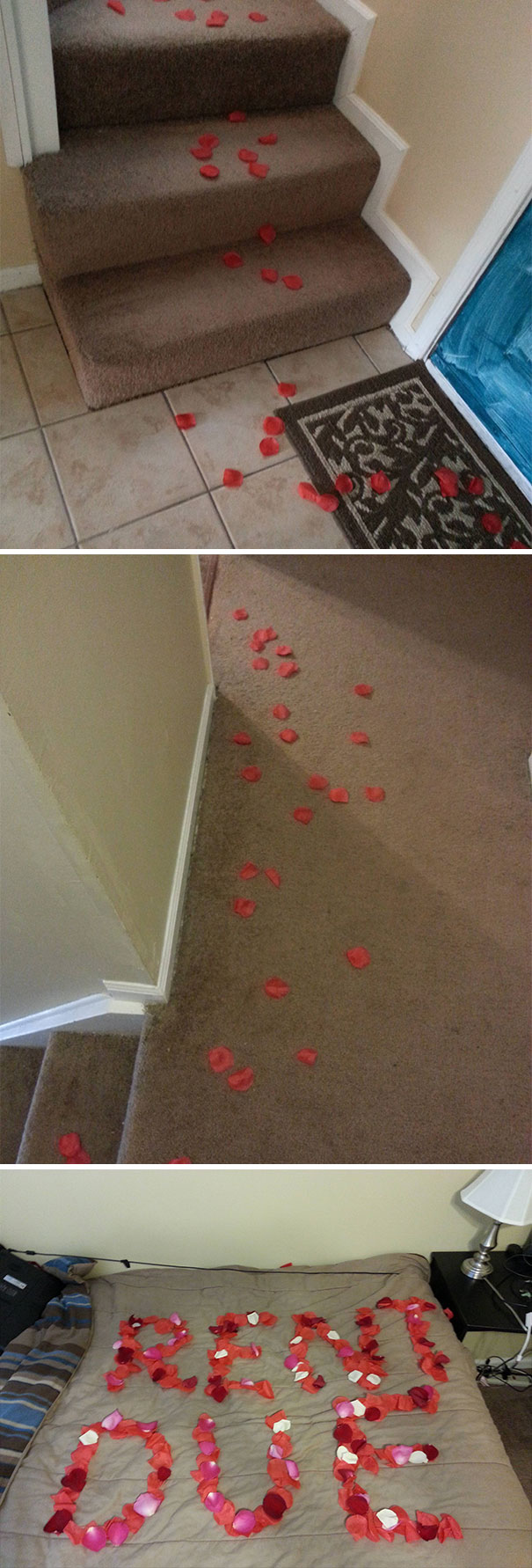 Left A Romantic Surprise For My Roommate