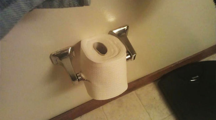 I Told My Roommate He Was Putting The TP On Backwards And Then I Find This