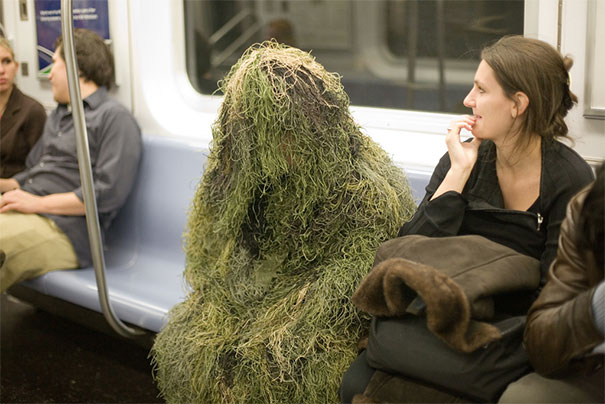 Subway Creature