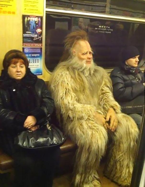 Yeti On The Metro