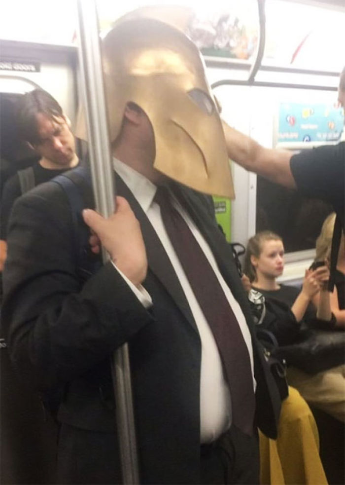 Me Trying To Avoid People I Know On The Train