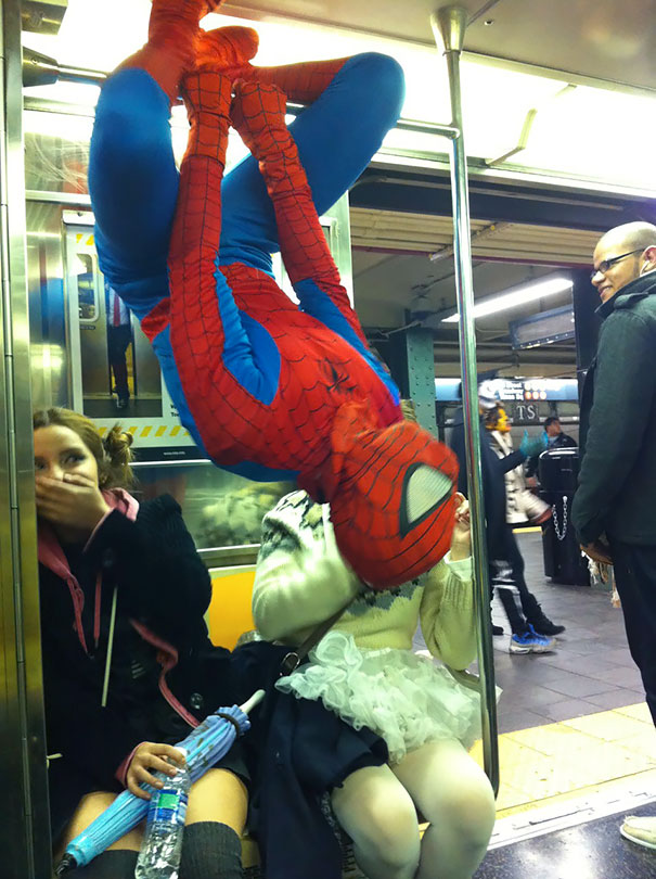 Your Friendly Neighborhood Subway Ride