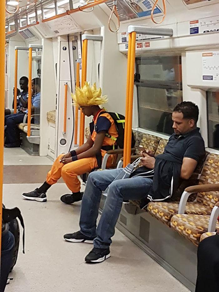 Sad Goku Is In My Train