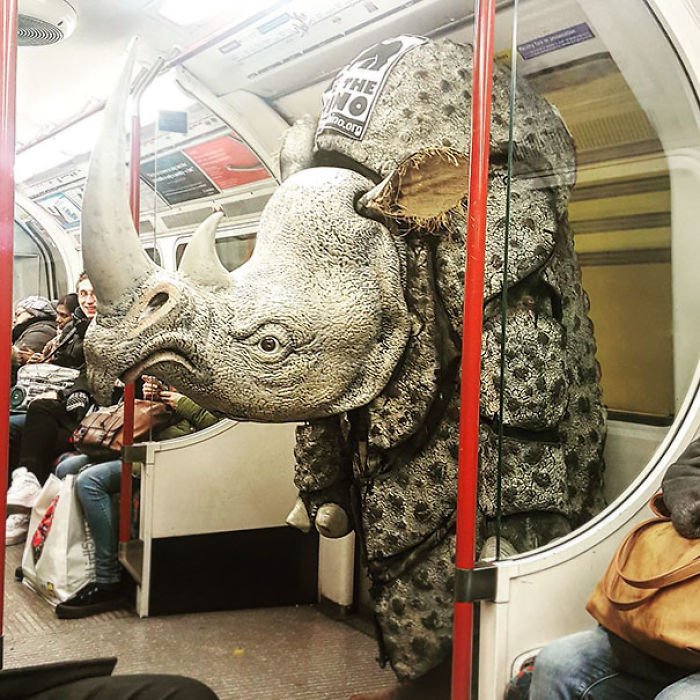 Meanwhile On The London Underground