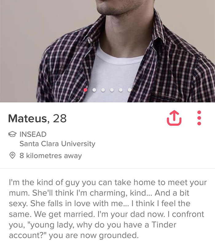10+ Funny Tinder Profiles That Will Make You Look Twice
