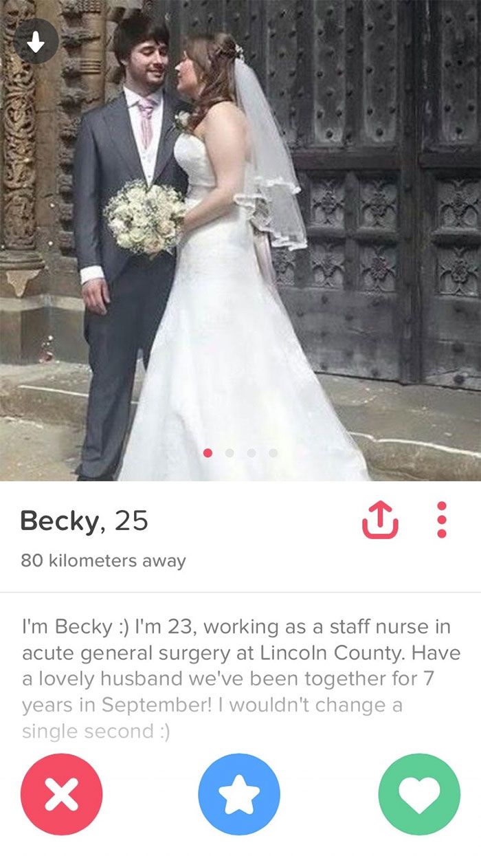 I Don't Think Becky Has Grasped Tinder Yet
