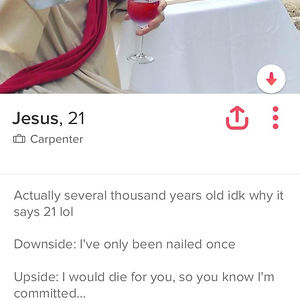 Jesus On Tinder