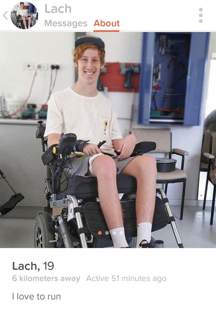 Found My Quadriplegic Friend On Tinder