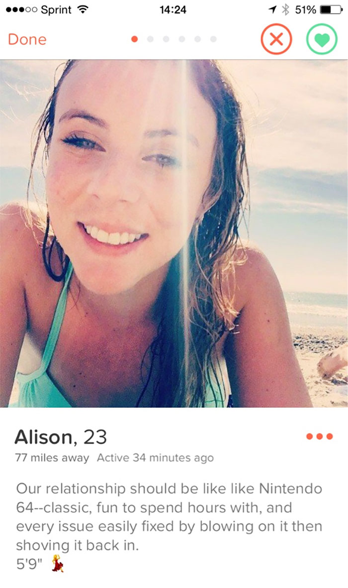 Winner Of Tinder Profiles