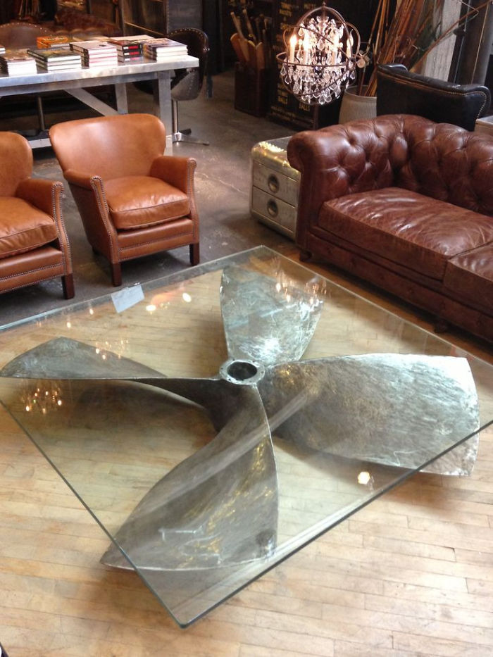Wonderful Propeller Table