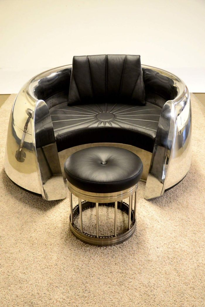 Furniture Made From Airplane Parts
