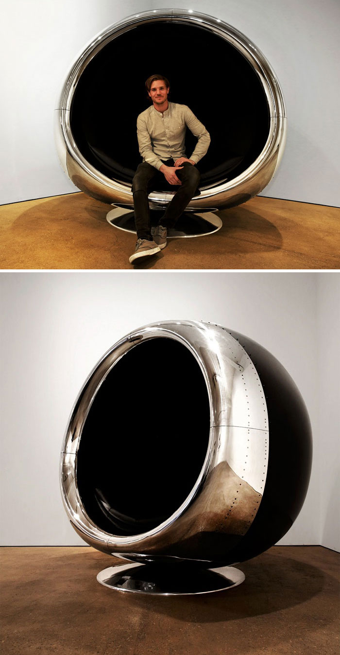 High Quality Boeing 737 Cowling Chair. Fallen Furniture Report