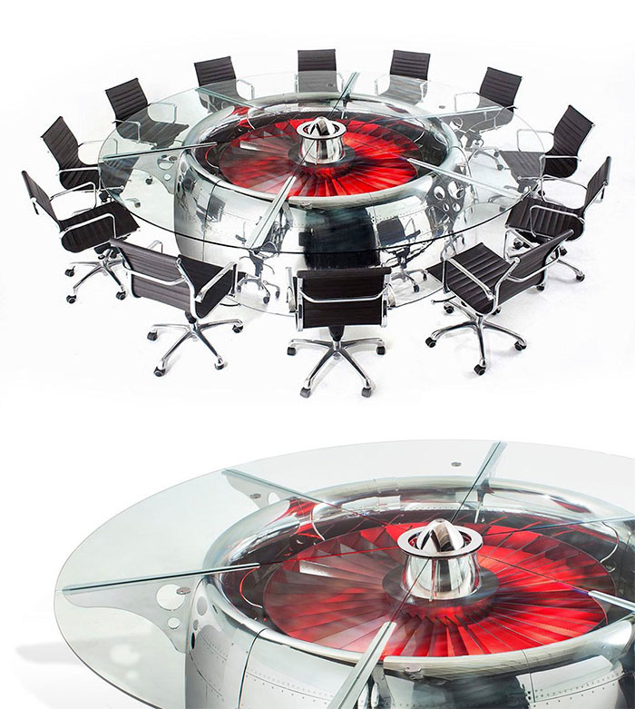 #3 Boeing 747 Jumbo Jet Conference Table