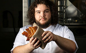 'Game Of Thrones' Hot Pie Opens Real Bakery Called 'You Know Nothing John Dough' And Guess What He's Making