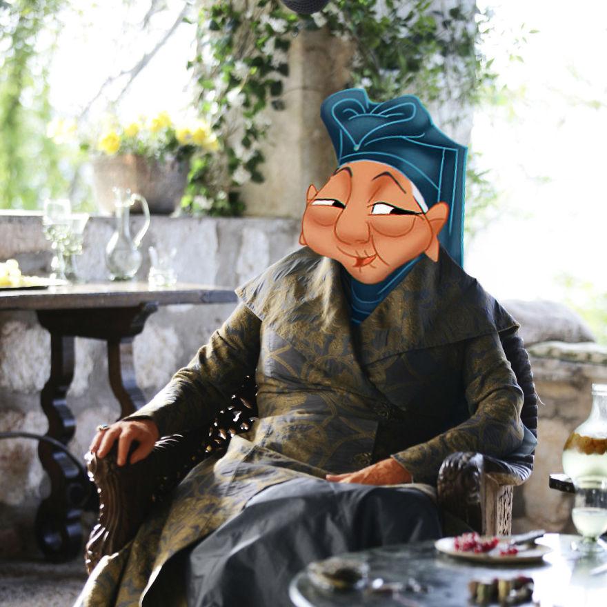 Granda Fa As Olenna Tyrell (Diana Rigg)