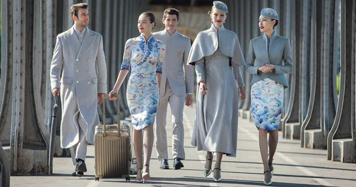 Chinese airline s new haute couture uniforms puts other for American haute couture